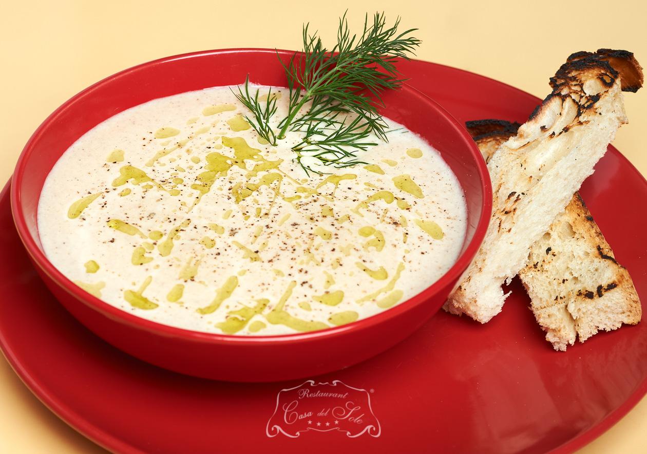 Livram la domiciliu Supa crema de ciuperci in Timisoara