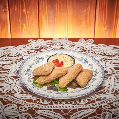 Cascaval pane cu sos remoulade 1 kg livram acasa ori la birou in Timisoara
