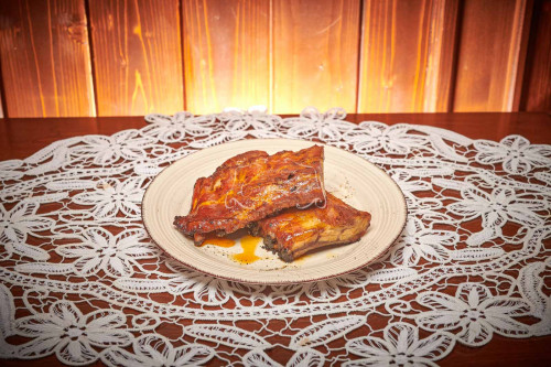 Coaste de porc slow cooked 0.8 kg livram acasa ori la birou in Timisoara