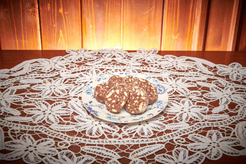 Salam de biscuiti 0.6 kg livram acasa ori la birou in Timisoara